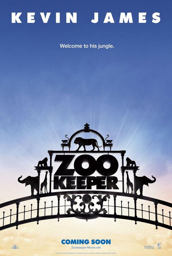 """또 나오는 동물원 영화, """"Zookeeper""""입니다."""