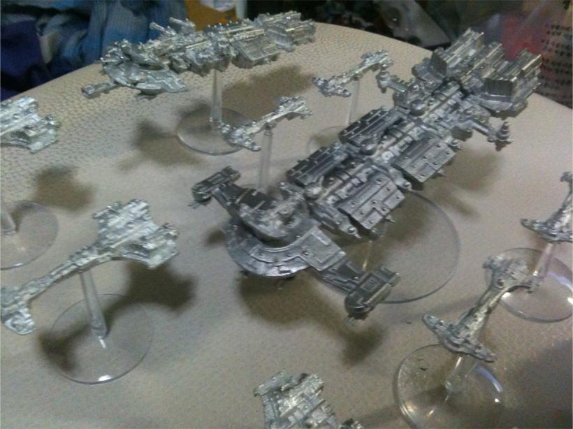 Kor'O Padet's Battle Fleet Gothic 1