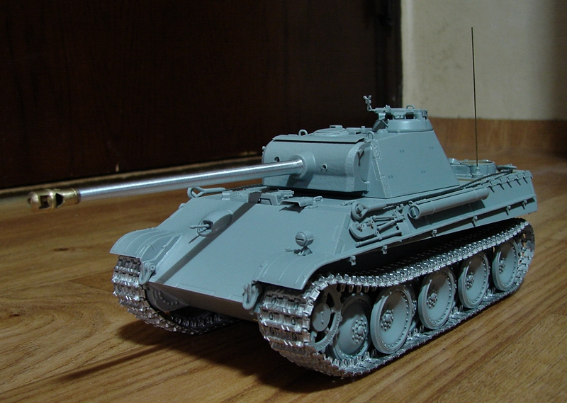[조립중2] DRAGON 1/35 PANTHER G Late Pro..