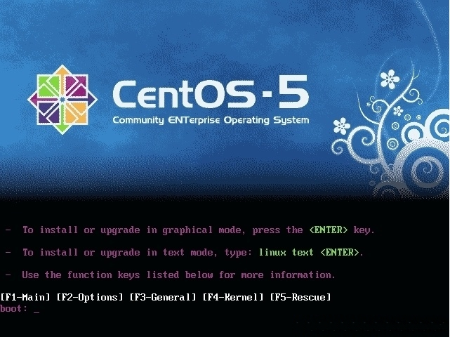 [CentOS] text mode로 설치 시 gnome GUI 설..