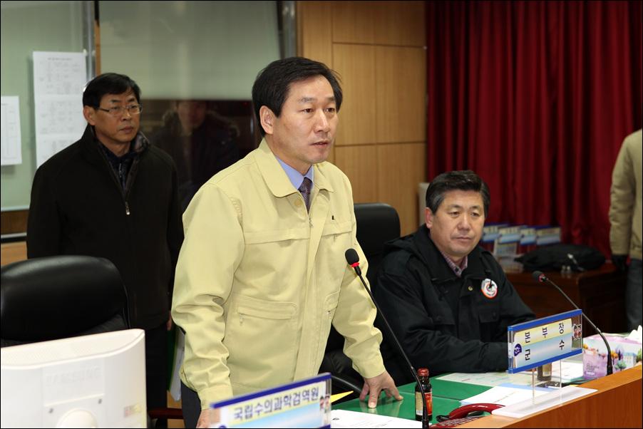 유정복 농림수산식품부 장관 진천군 현장 방문