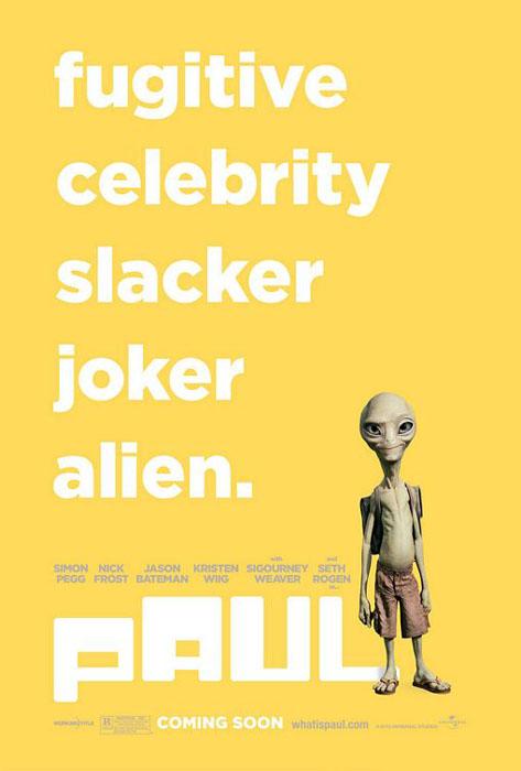 """요절복통형 SF 코미디? """"Paul""""입니다."""