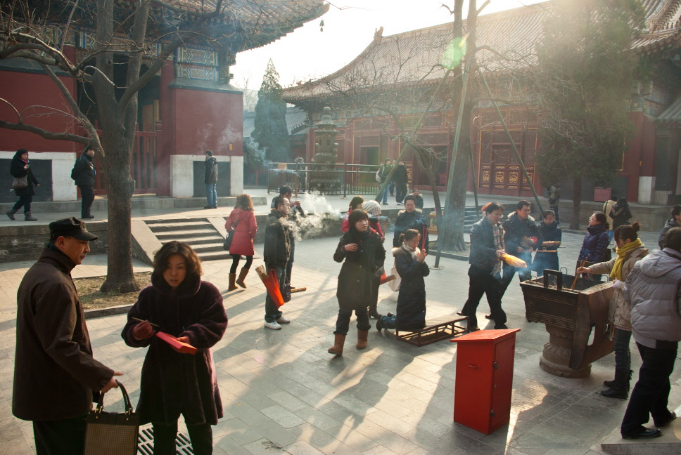 베이징 진짜 큰 -_- 라마교 사원 용화궁(雍和宫)