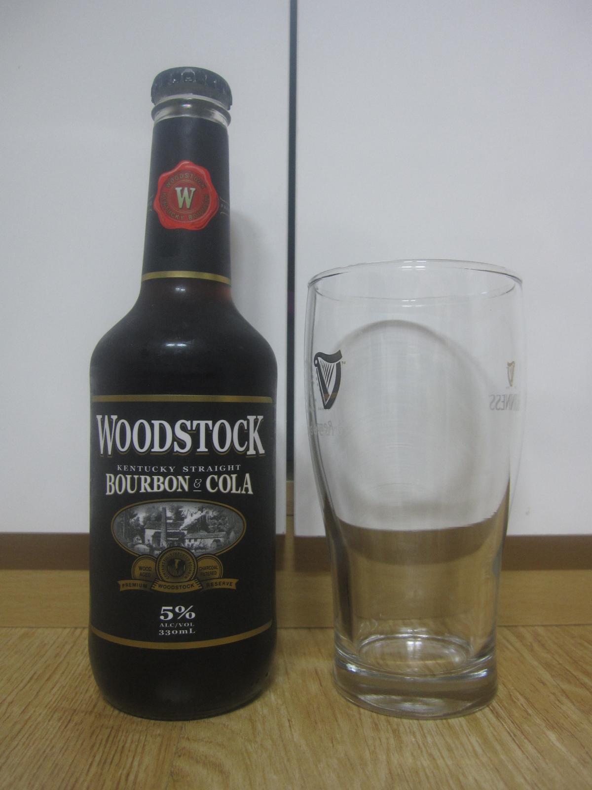 [RTD]Woodstock Bourbon & Cola(우드스..