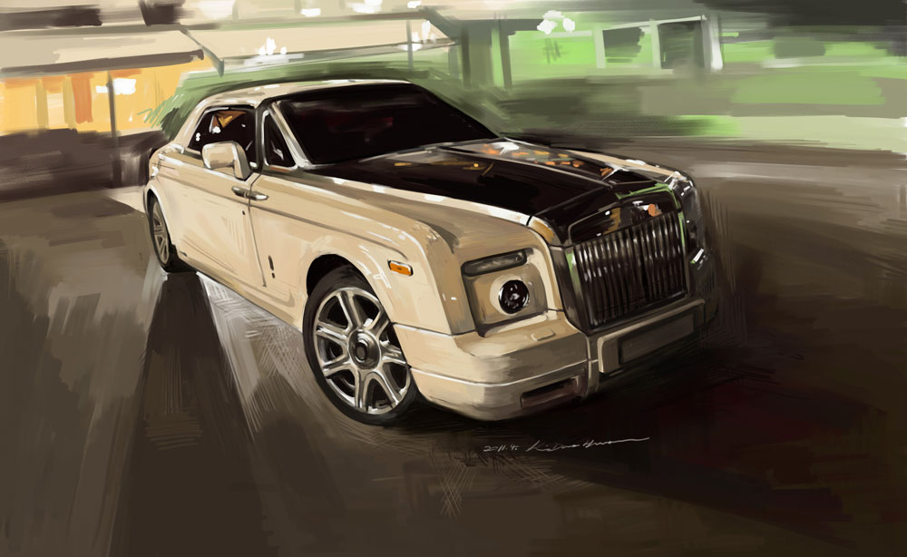2011.4.8 Rolls-Royce Pantom Coupe