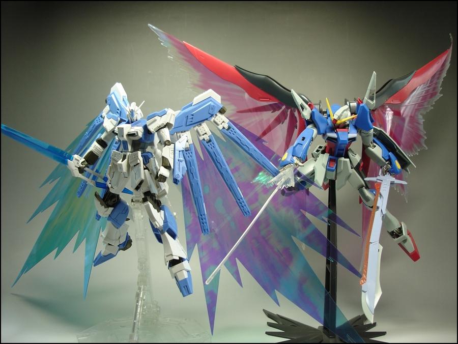 빛의 날개 Vs 빛의 날개...반다이 Vs듕국 mc