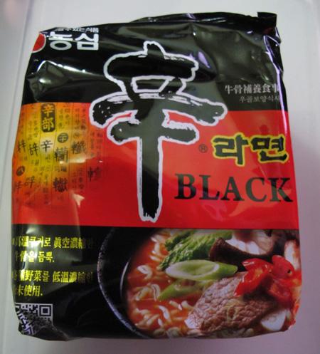 [면식] 辛라면 BLACK (농심)