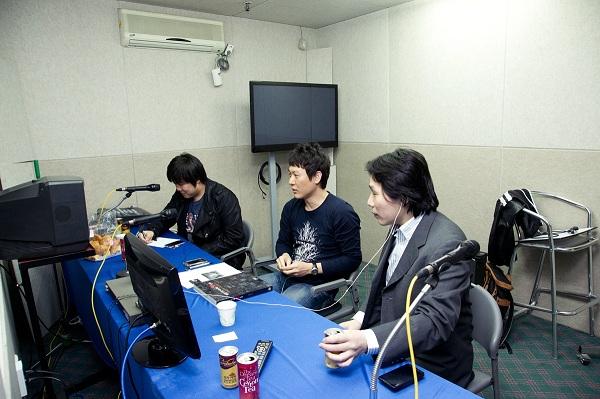 은하철도999 블루레이 음성해설 녹음현장