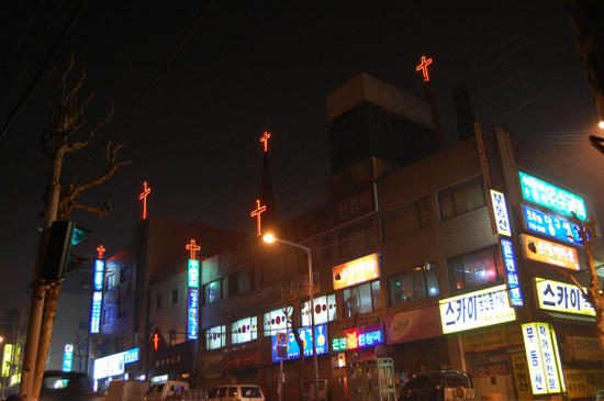 제가 한국의 밤하늘을 무서워 하는 이유