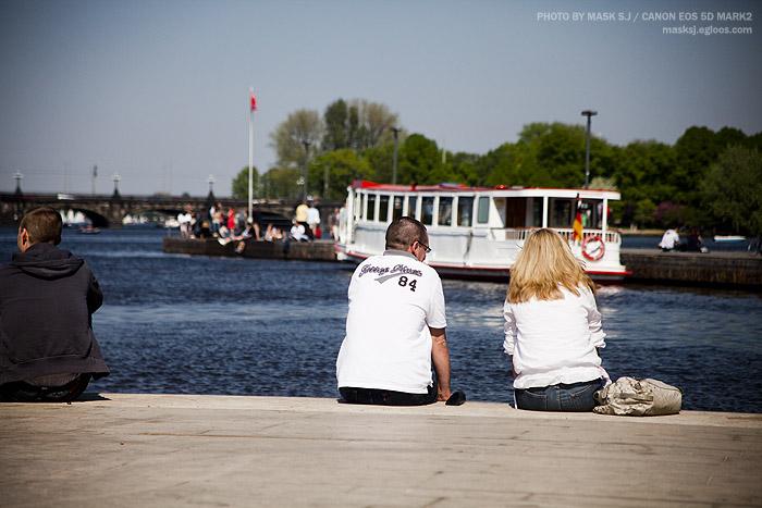2011 독일 함부르크 3. 알스터 호수