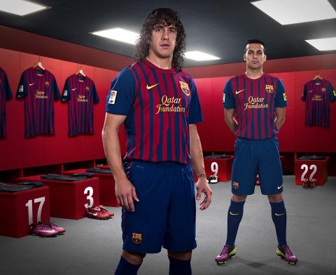 나이키, FC 바르셀로나 위해 특별한 새 유니폼 공개