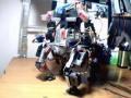맷돌 과 맷돌28호 사용 RC 서보 로봇 4각 보행 - 34접..