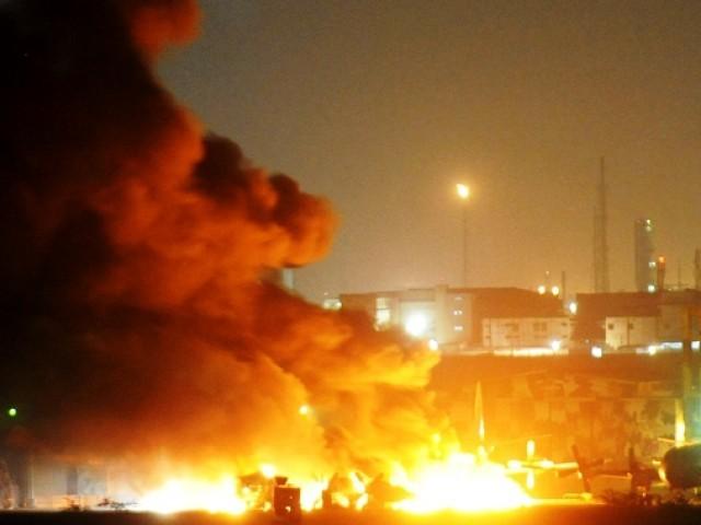 테러공격으로 치명타를 입은 파키스탄 해군