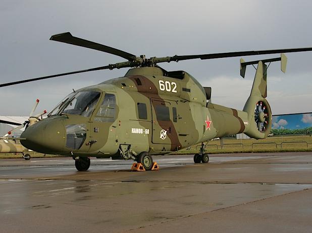 개발에 탄력이 붙은 카모프 Ka-60/62 헬기