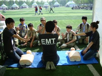 동남보건대학 응급구조과와 함께하는 스카우트 대..
