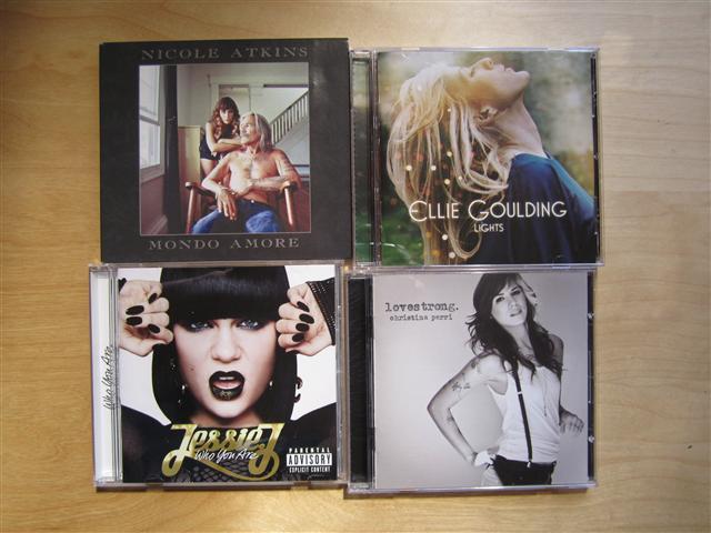최근 입수한 신작 CD 몇 장 (4): Nicole Atkins/El..