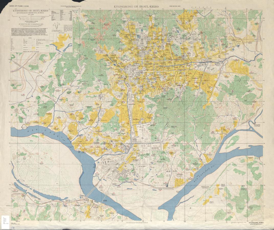 [지도제작]Cities in motion - 1920년 경성