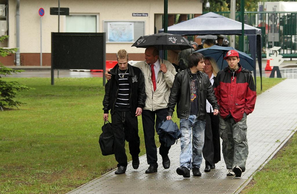 [사진] 독일연방군에 지원입대하는 젊은이들