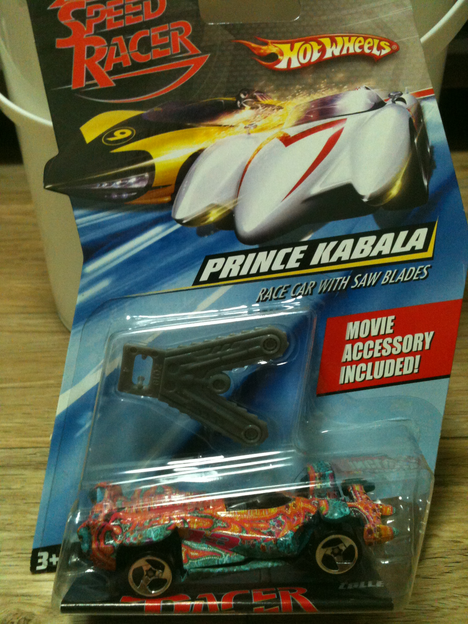 Speed racer - Prince Kabala - Race Car with..