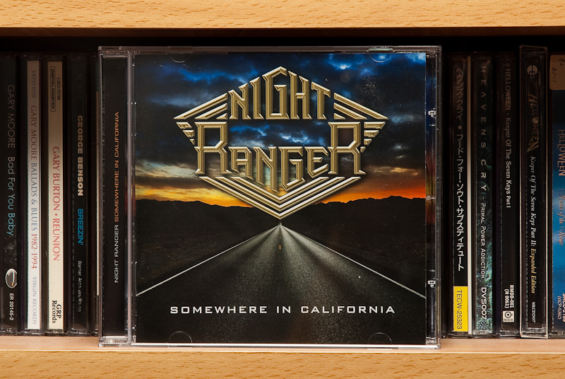 Somewhere In California - Night Ranger / 2011