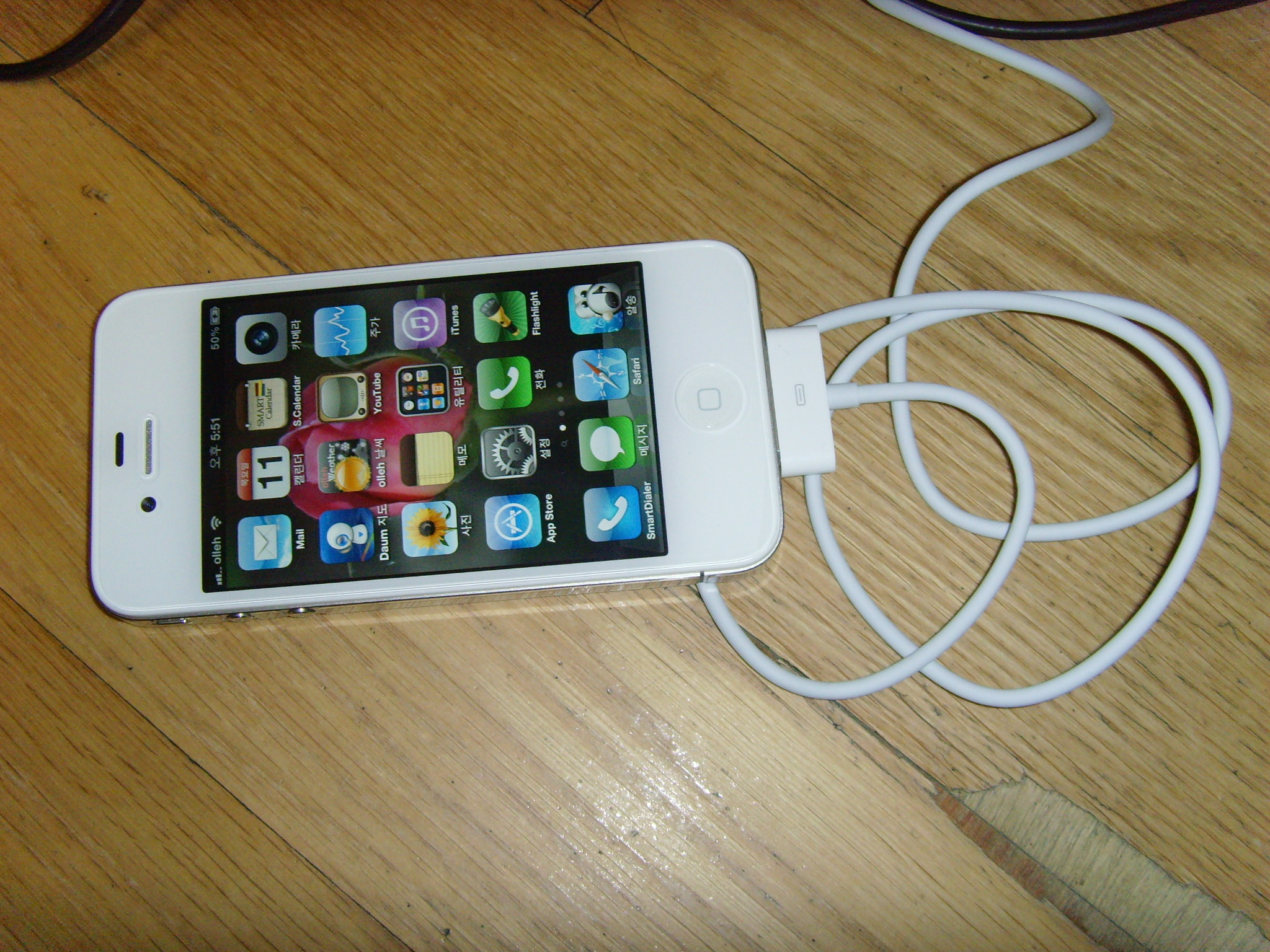 iPhone4 화이트!