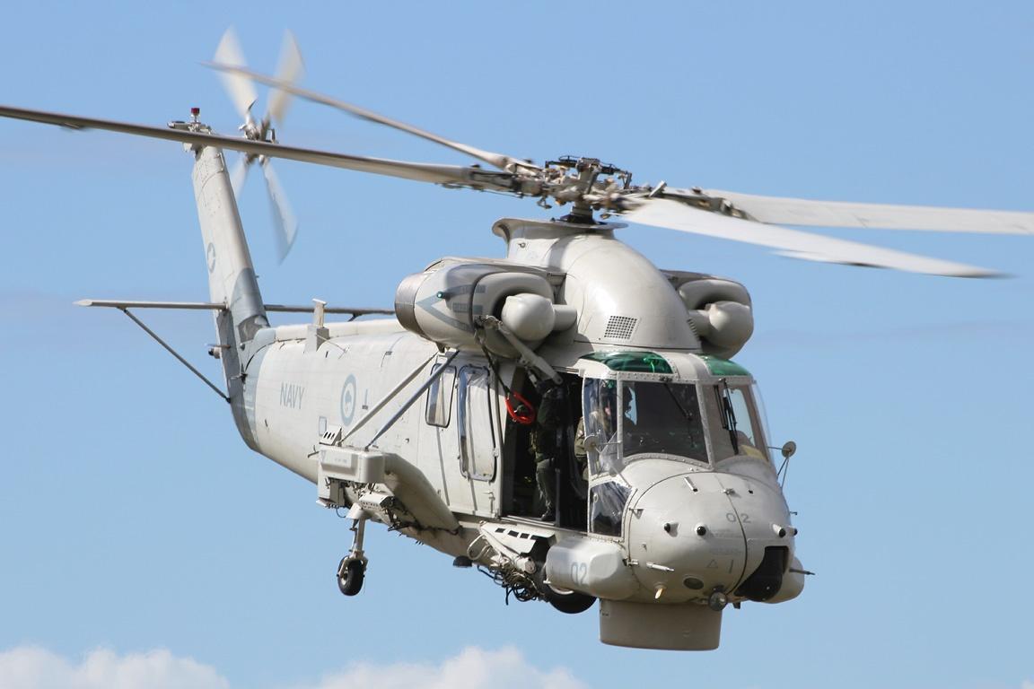 씨스프라이트 헬기의 유지에 애먹는 뉴질랜드군