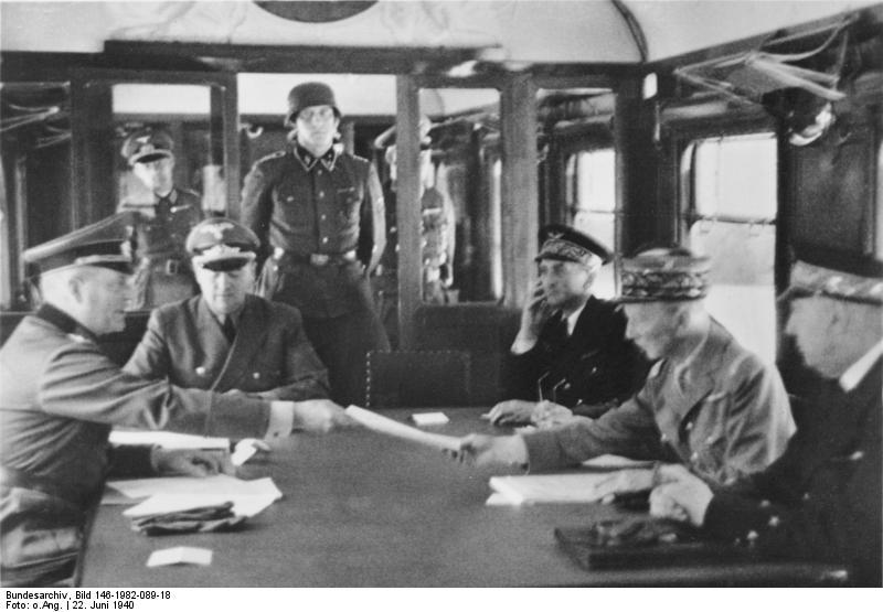 프랑스 항복과 일본 -1940년 6월...