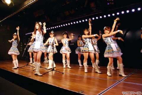 AKB48의 시마다 하루카 팀4 1st 공연 첫날을 맞이해 ..