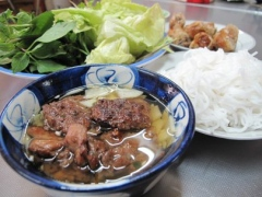 하노이의 분짜를 호치민에서 맛보기