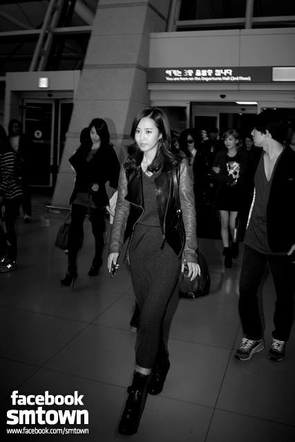 소녀시대 :: 인천국제공항 출국 & JFK 공항 입국 사진 ..