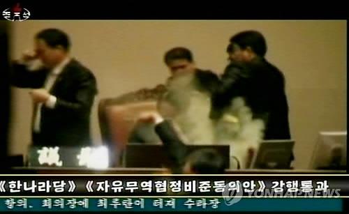 조선의 자랑 민노당 김선동의원