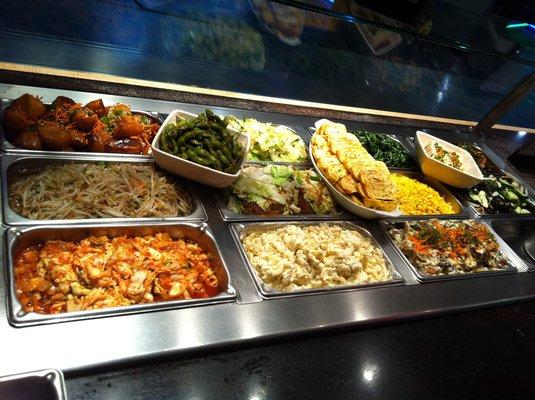 하와이 음식 3 - 한국식 플레이트 런치, 일본식 플..