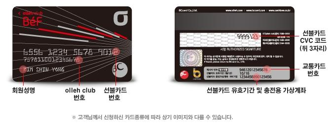 BeF카드 정보] 교통카드, 선불카드가 모인 Be..