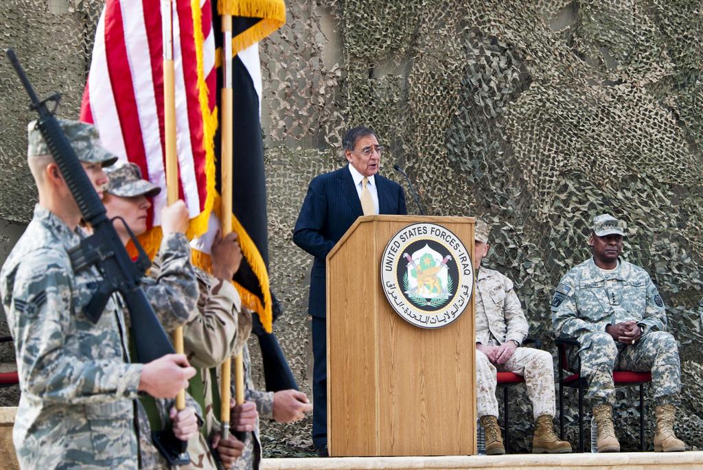 이라크에서의 임무를 공식 종결한 미군