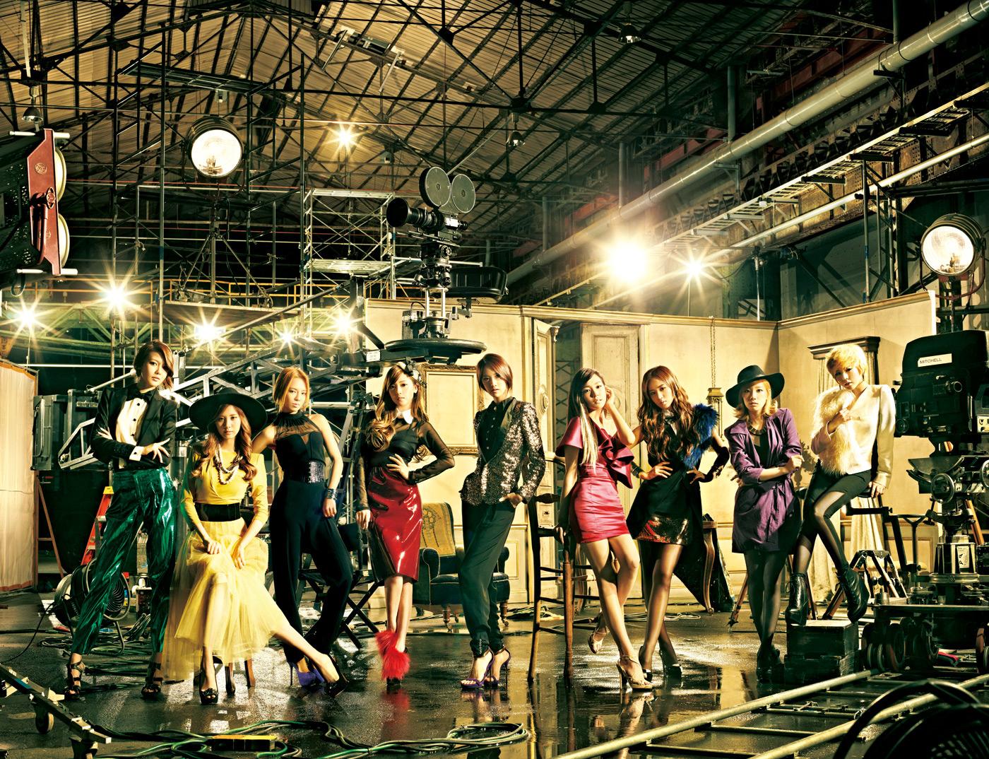 2011 소녀시대 일본 공식홈페이지 정규1집 리패키지..