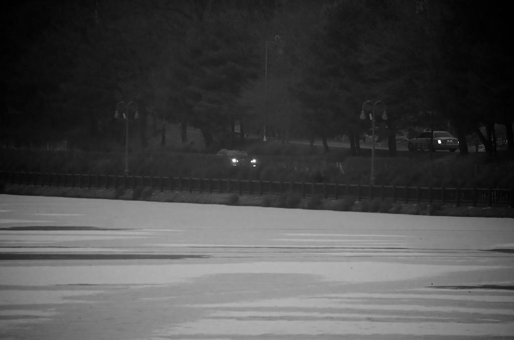 율동공원 겨울 풍경