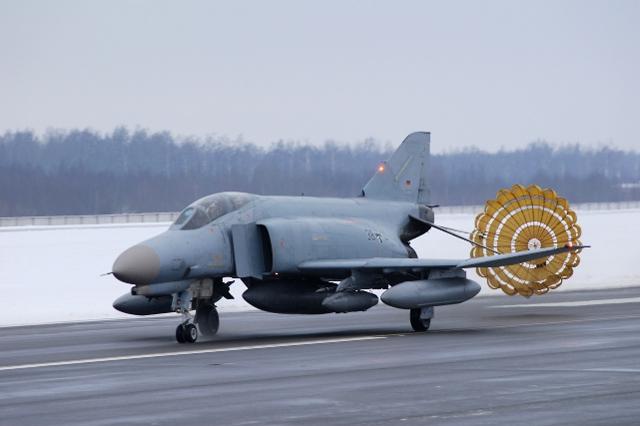 또다시 발트 3국의 영공을 지키게 된 독일 F-4 팬텀