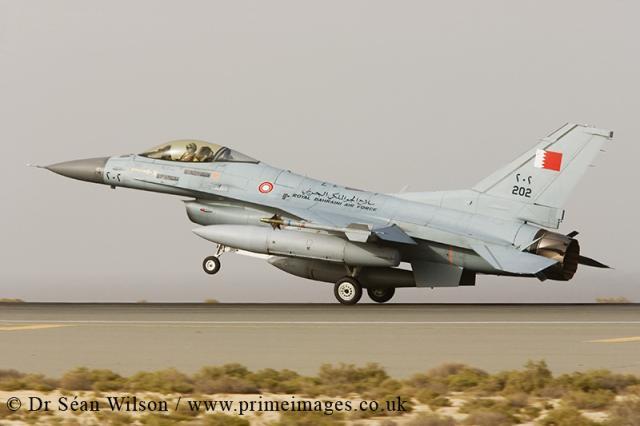 최신 무기사업을 서두르지 않는 바레인 공군
