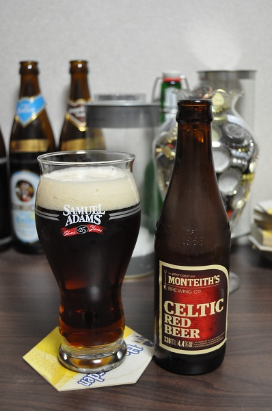 Monteith's Celtic Red Beer