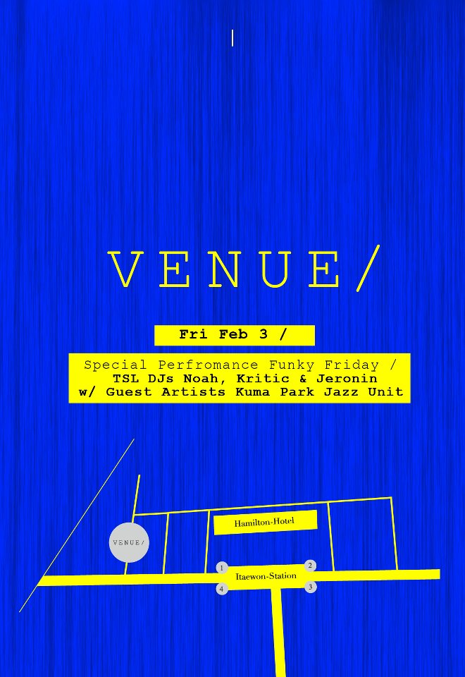 venue funky friday~