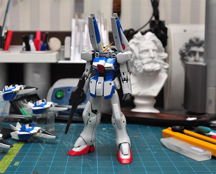 [1/100] MG Victory Gundam #3 가조립