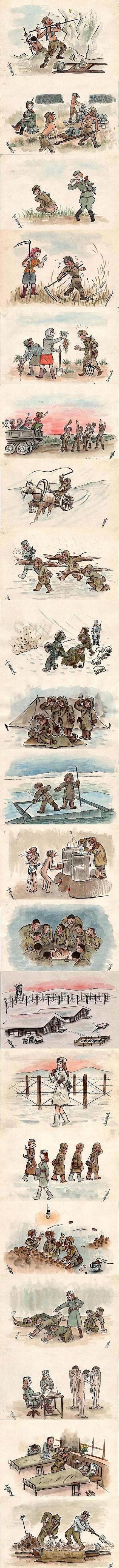 [카툰]소련의 일본군 포로