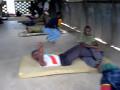 탄자니아 보병학교 순환체력단련