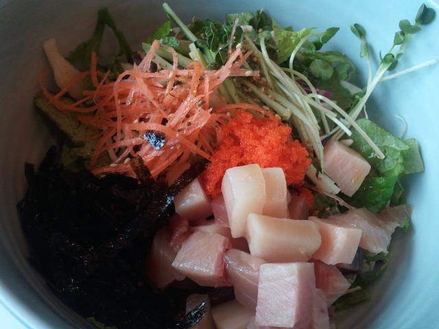 20120213 점심 - 참치회덮밥