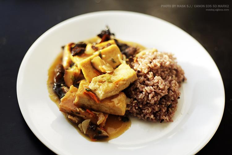 두부 버섯 chop suey