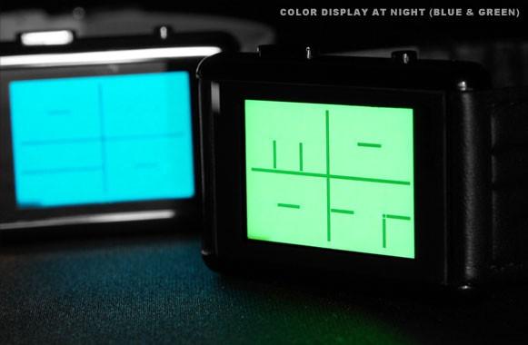 이모티콘으로 알았습니다, 도쿄 플래쉬 스텐실 시계