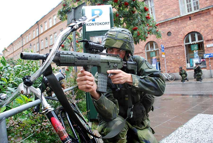 사우디에 비밀리에 무기 공장을 세우려는 스웨덴