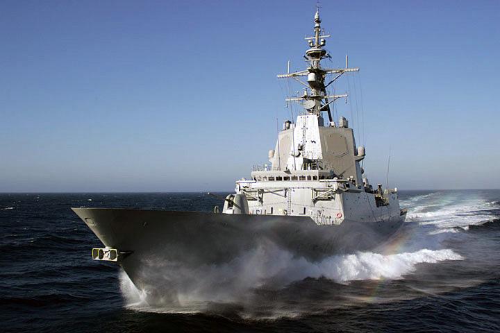 스페인해군 F-100 호위함의 탄도미사일방어능력 ..