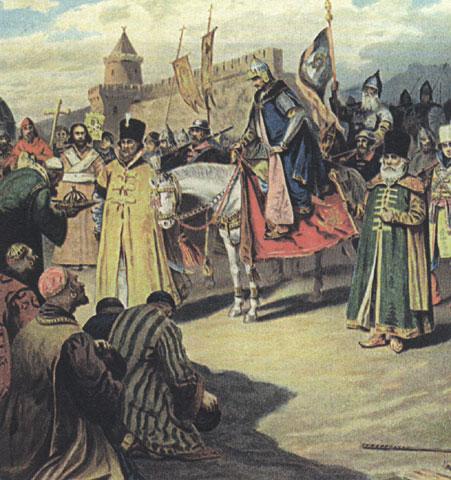 유럽의 유목민들 9-3. 몽골족-러시아의 멍에.