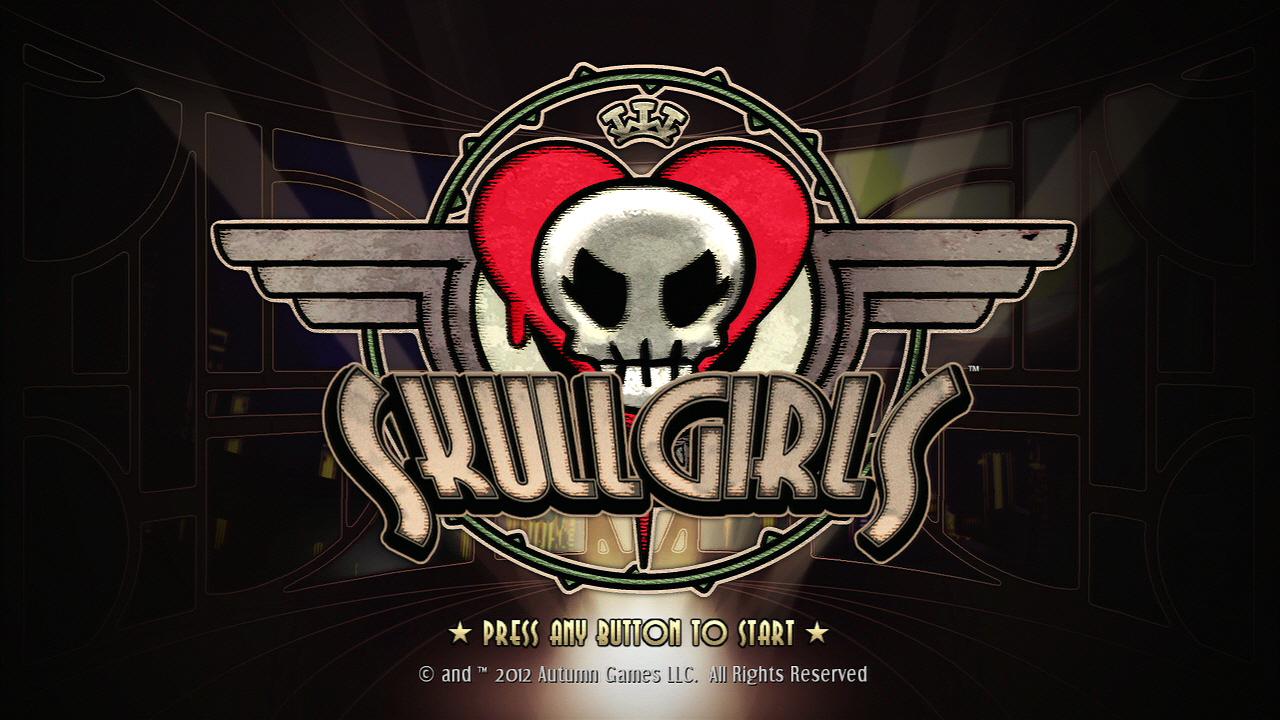 스컬 걸즈 데모샷 (SKULL GIRLS DEMO SCREE..